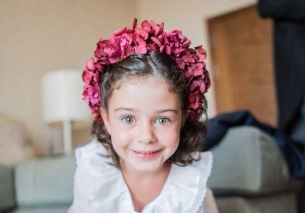 Peinados para los más pequeños en bodas, bautizos y comuniones