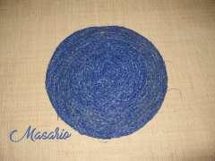 22cm. Raffia discs