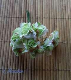 8 Flores vintage aprox. 3cm