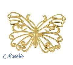 brass butterflies