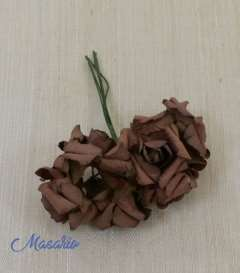 6 florecitas de papel