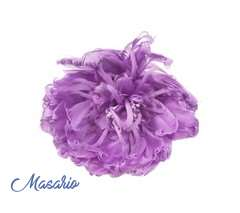 Feather peonies 17 cm aprox