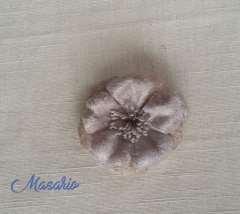 Velvet flower (5,5 cm aprox.)