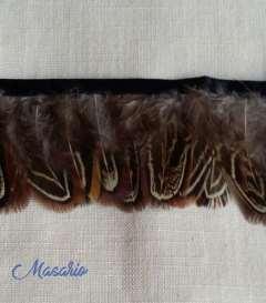 Fleco plumas varias de 5 cm aprox.