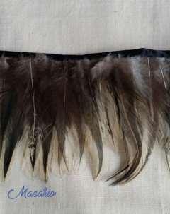 Fleco gallo natural 12-13 cm aprox.