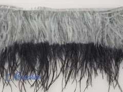 Fleco avestruz doble capa