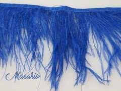 Fleco de avestruz doble capa