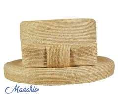 Sombrero Eugenia paja fina