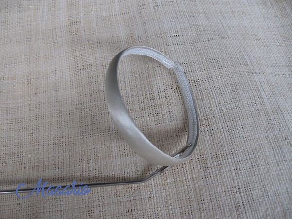 Lined headband 1'7 cm