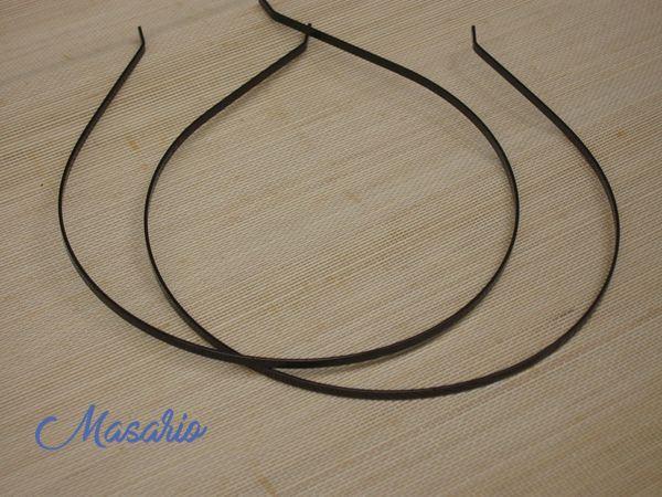 2 methalics headband