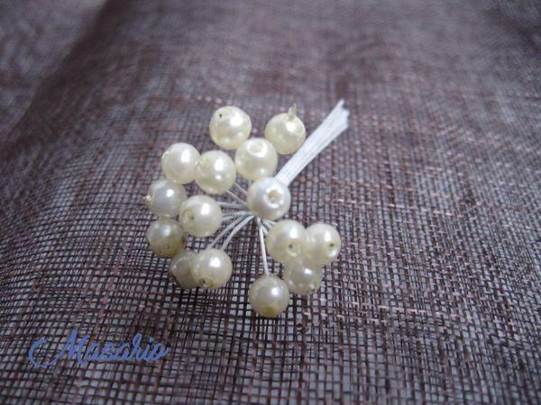 Pistilos de perlitas
