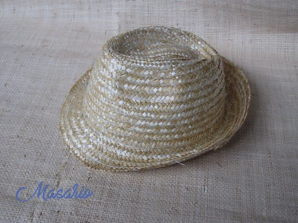 Children´s Trilby straw