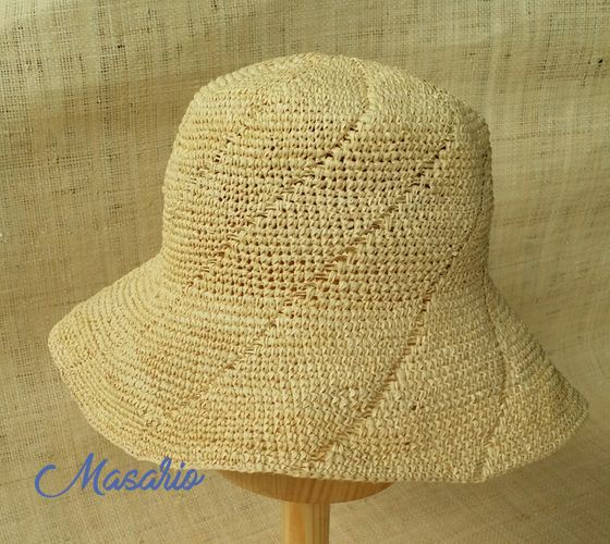 Sombrero Crochet paja toquilla
