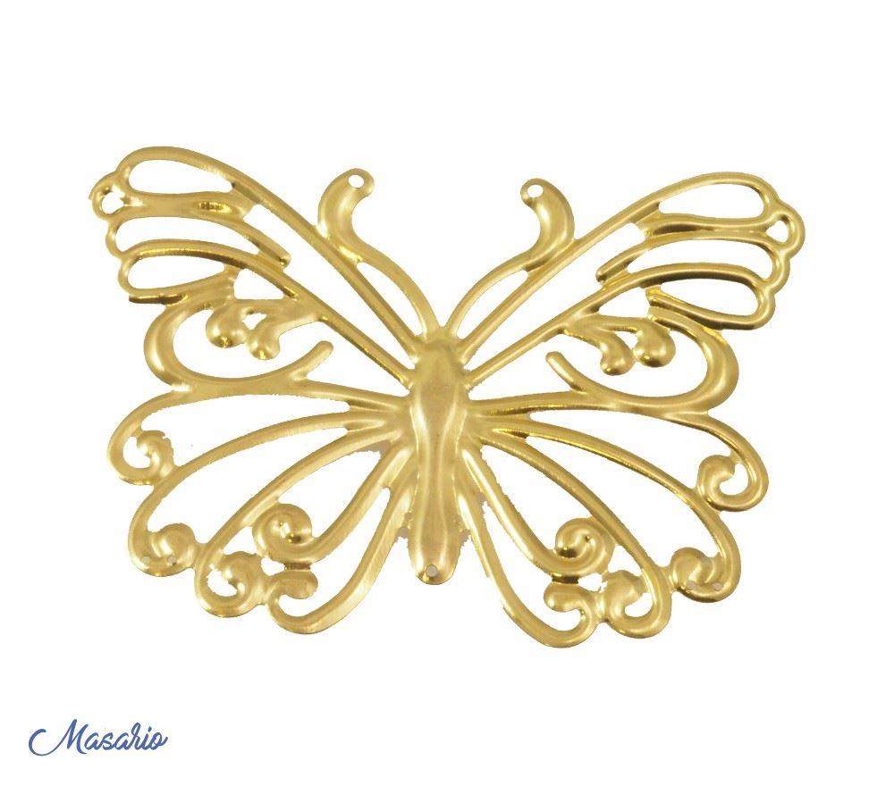 Mariposas de laton
