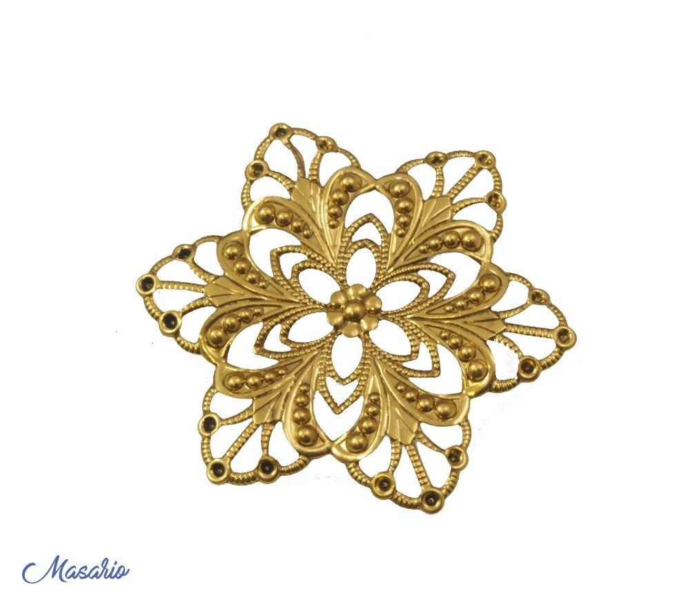 brass flowers