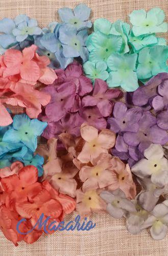 10 Pétalos de hortensia