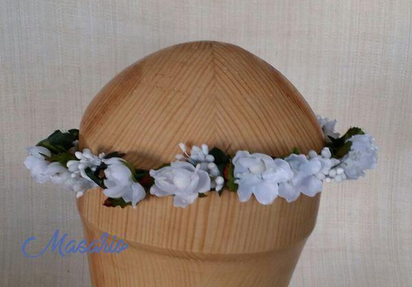Corona verde-blanca