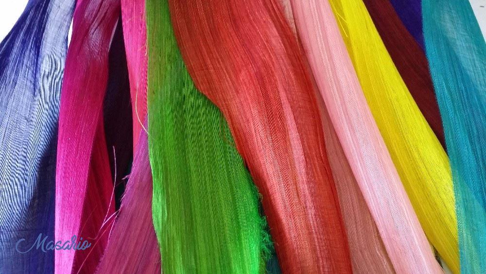 Abaca-silk 90 cm