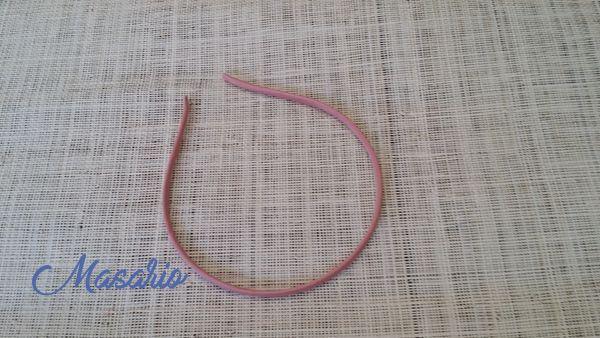 Lined headband 5 mm