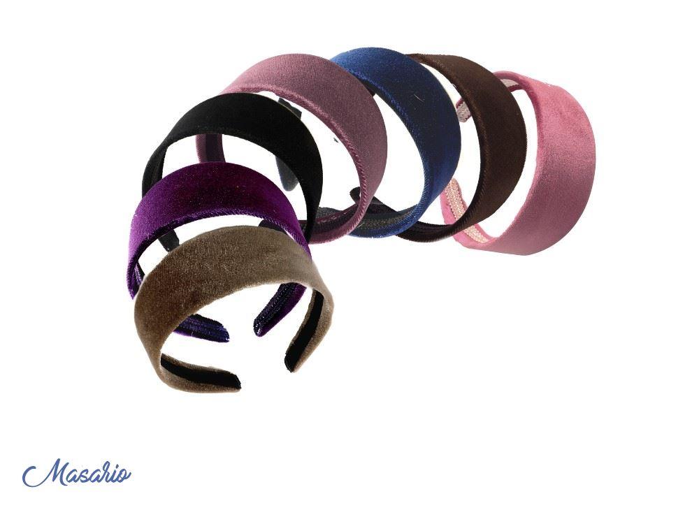 Velvet headband 4 cm approx.