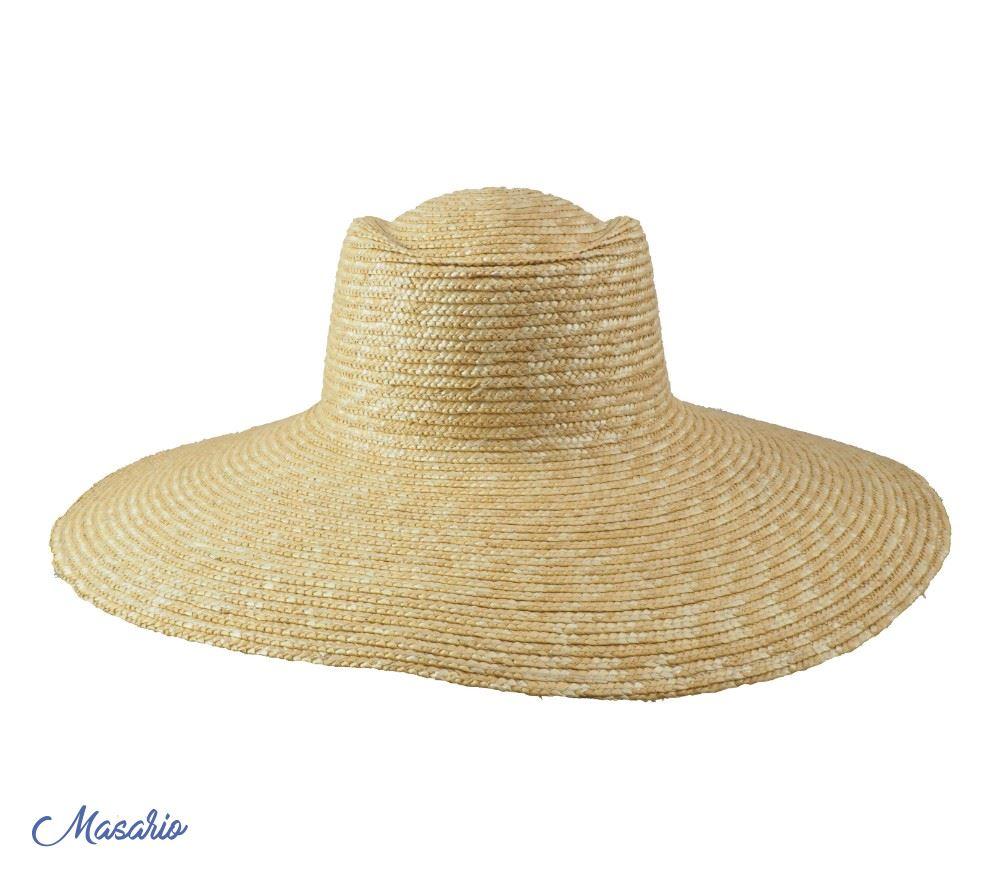 Straw hat Ibys 45cm aprox.