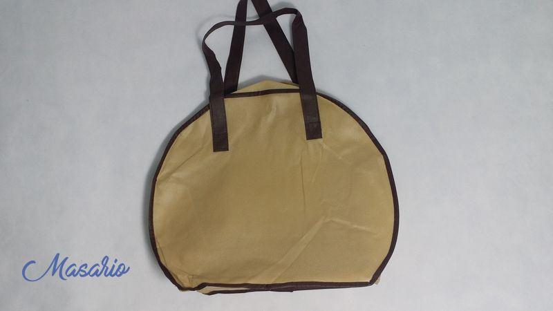 Hat box non woven fabric 35x35 cm