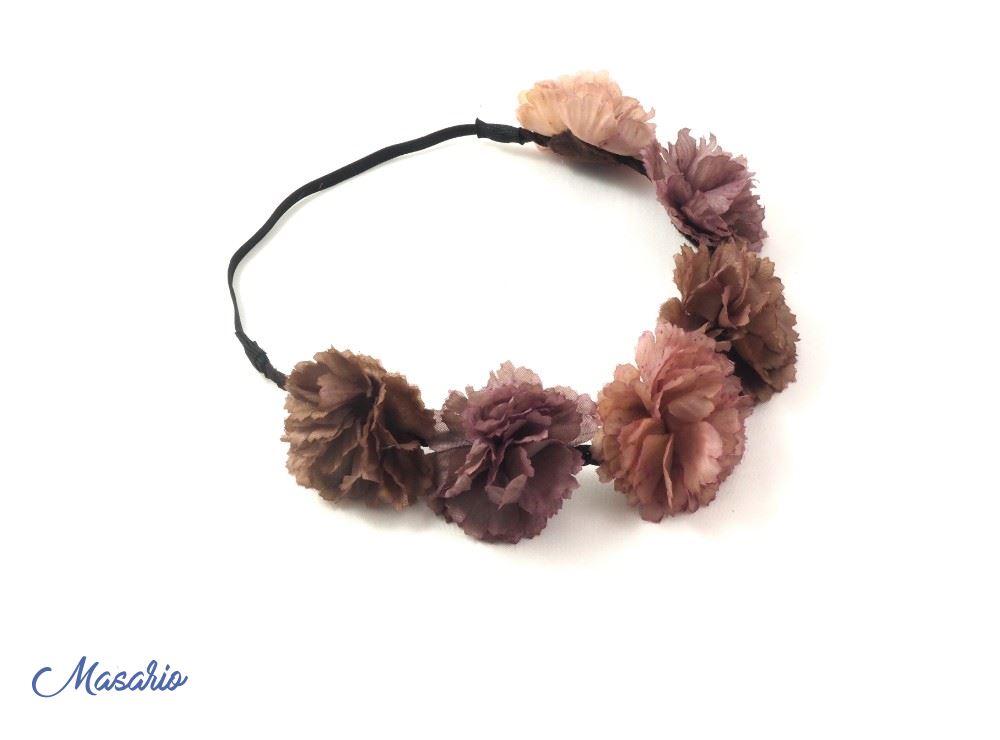 Corona 6 flores con elastico