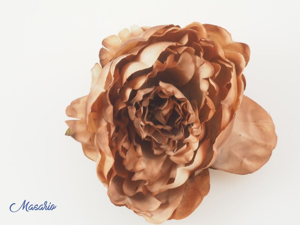 Flor Alba 15 cm aprox.