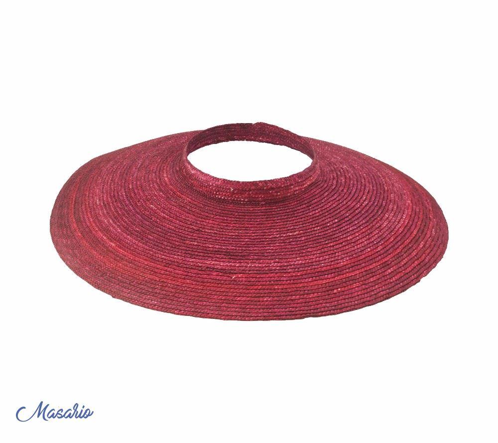 Straw braid  brim 53-54 cm aprox.