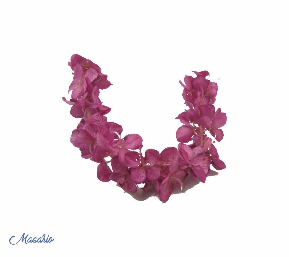 Branch of hydrangea petals