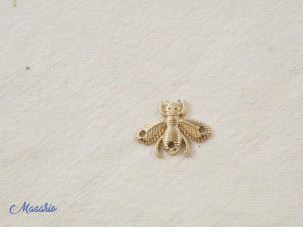 Small methalic fly