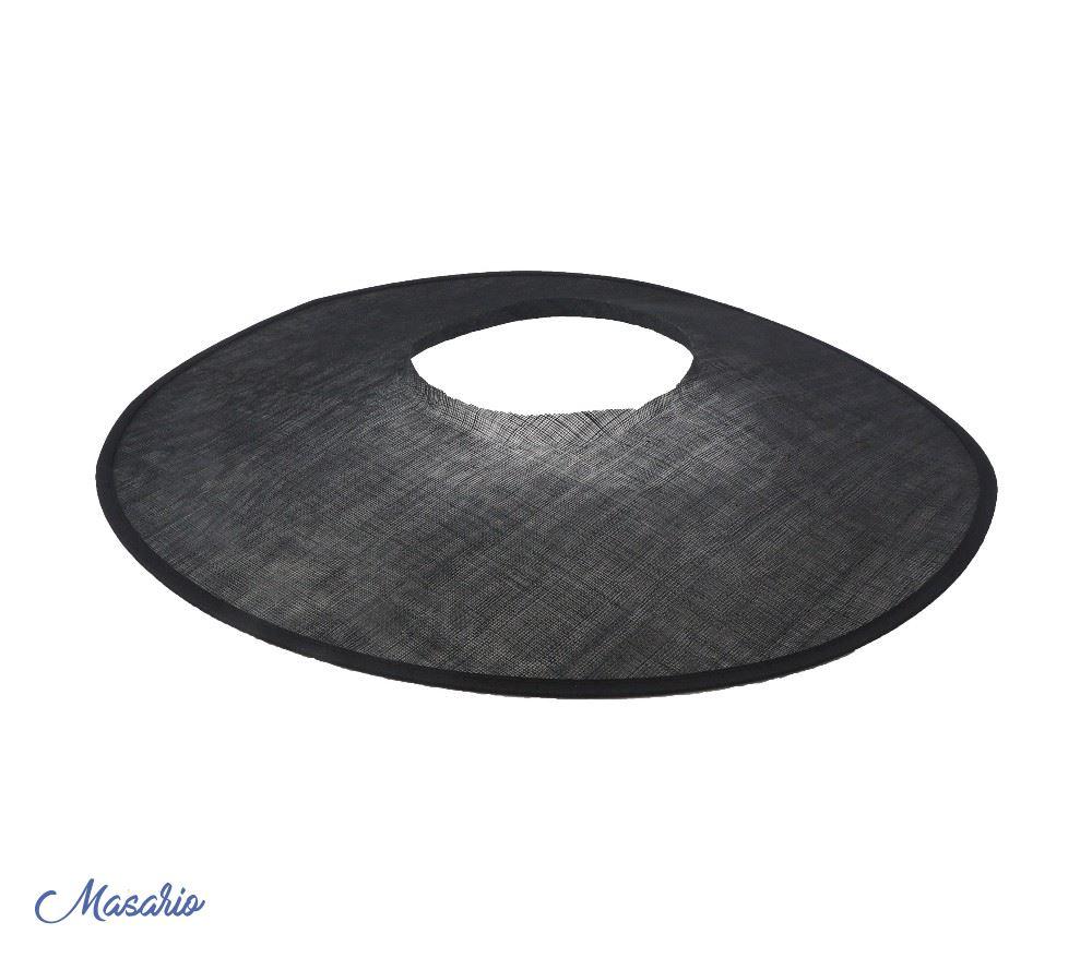 Sinamay brim 58 cm
