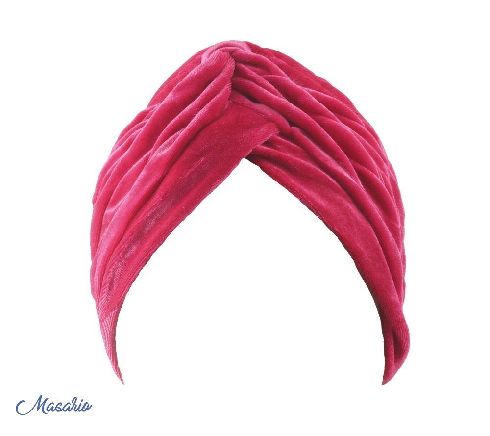 Velvet-licra turban