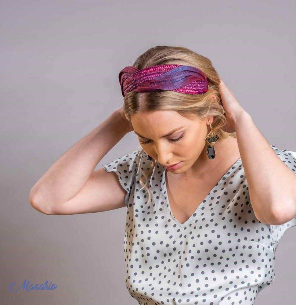 Headband Camille Abaca