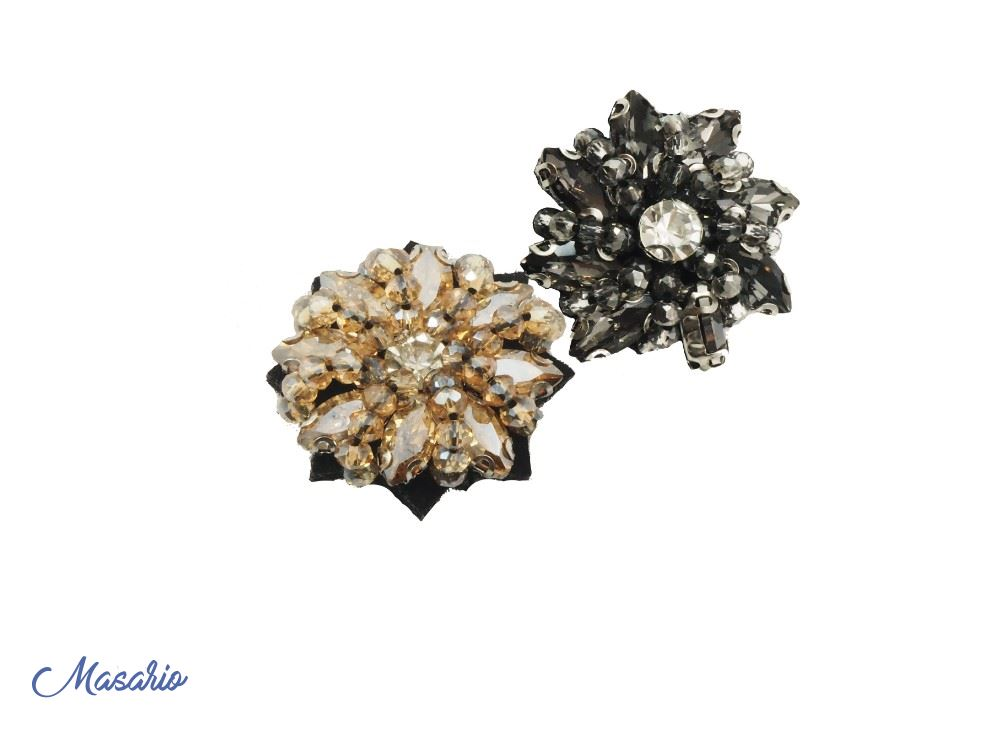 Flor de cristal 3 cm