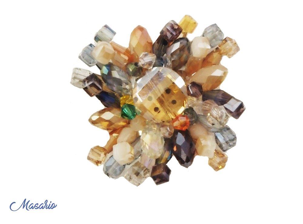 Glass flower 4 cm