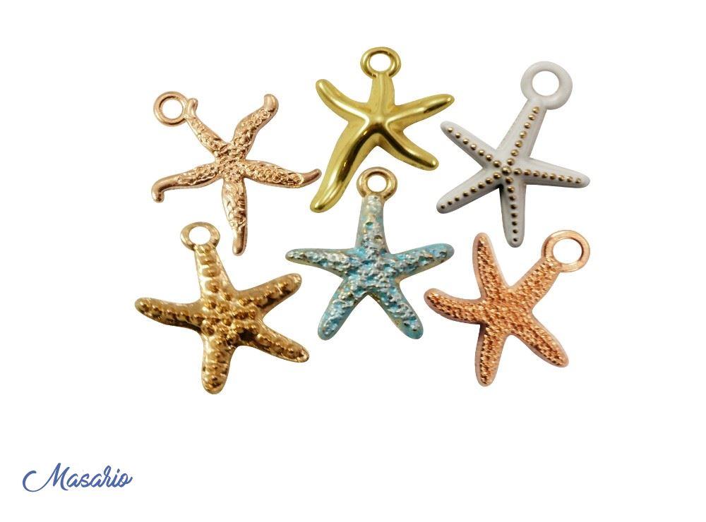 Estrellas de mar pequeñas