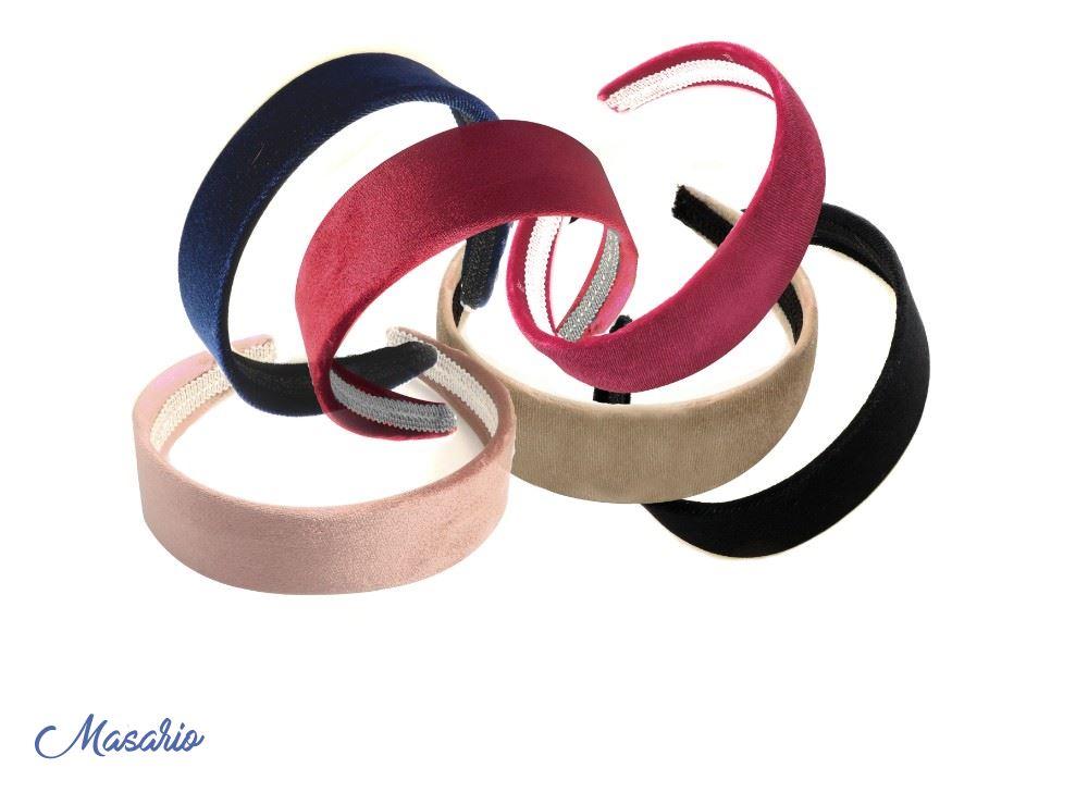 Velvet headband 3 cm approx.