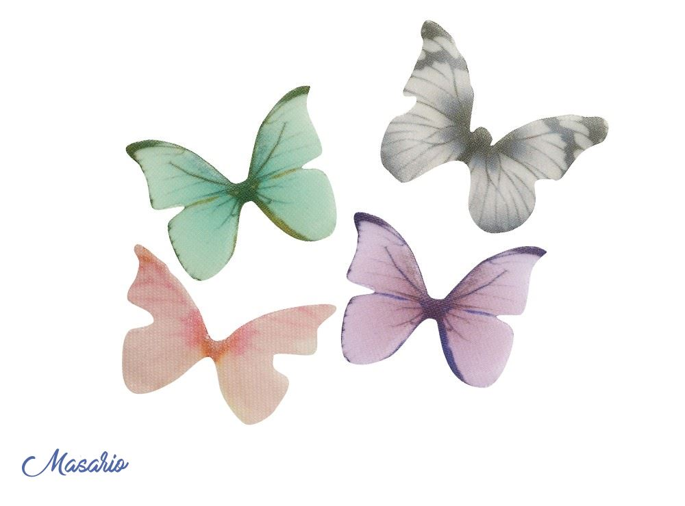 Silk butterflies