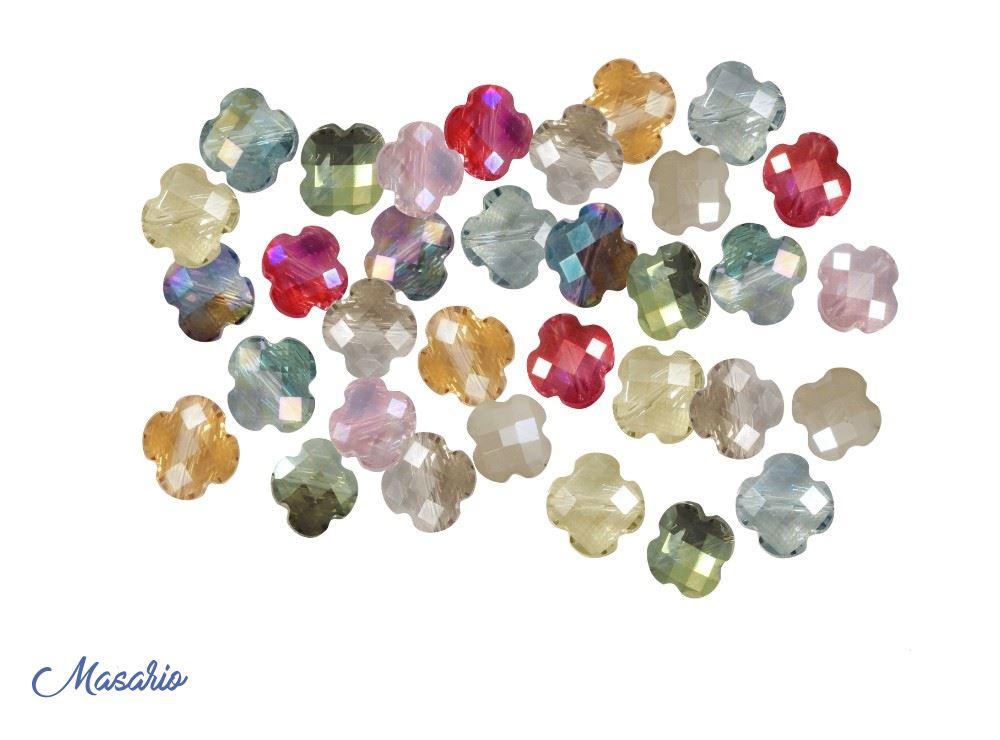 10 beads flower