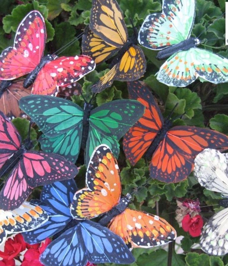 Mariposas para tocados