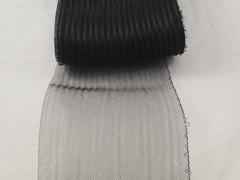 Pleated crinoline.