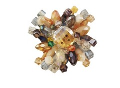 Flor cristal 4 cm