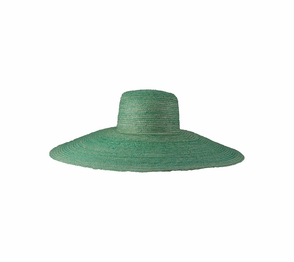 Round crown braided straw hats(Carolina)