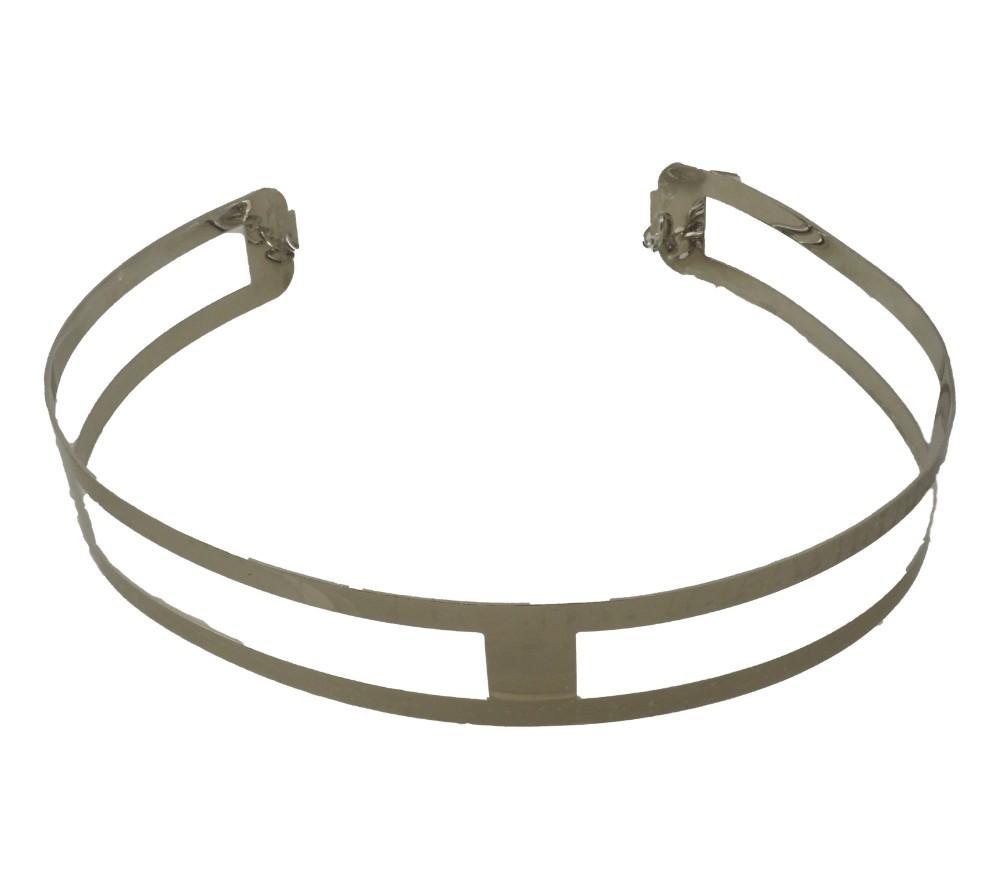Cinturones metálicos de reja