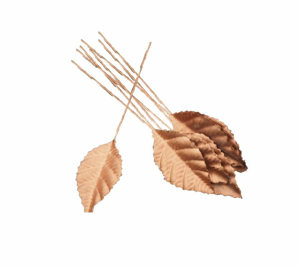 12 hojas colores metálicos