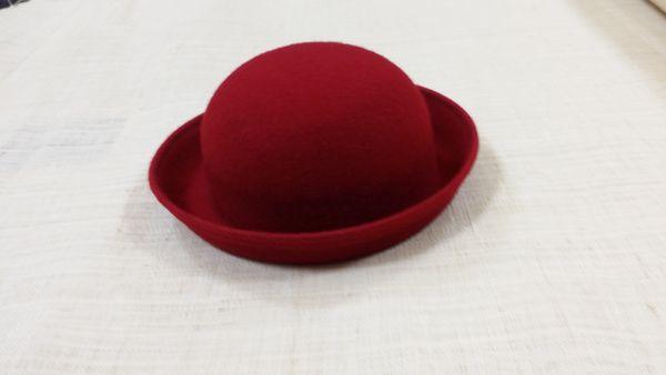 Sombreros fieltro colegiala niña