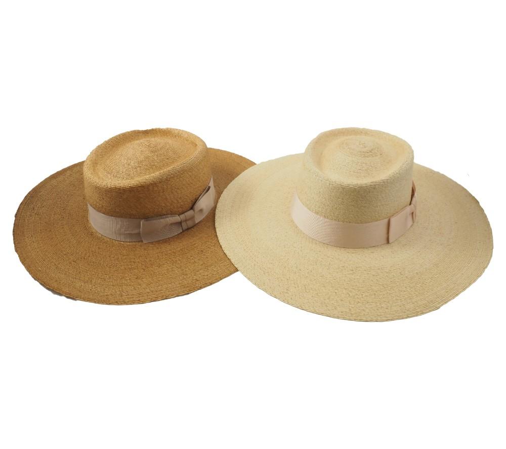 Wide brim Royal palm hat