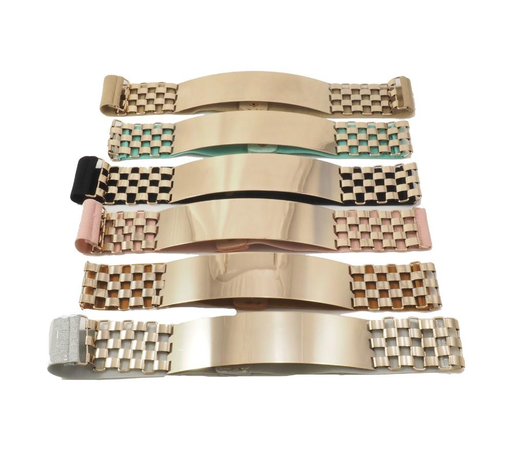 metalic--elastic belt