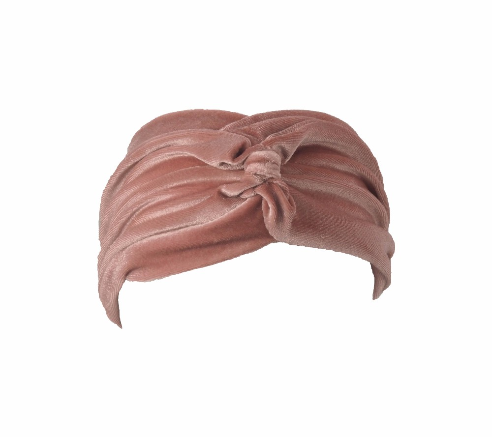 Velvet turban